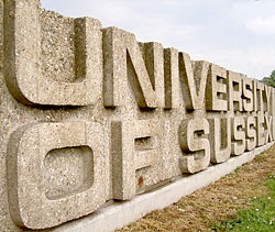 University of Sussex Trường cao đẳng Sussex down   Anh quốc